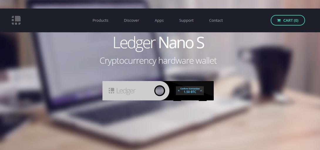 ledger nano s portfel kryptowalut